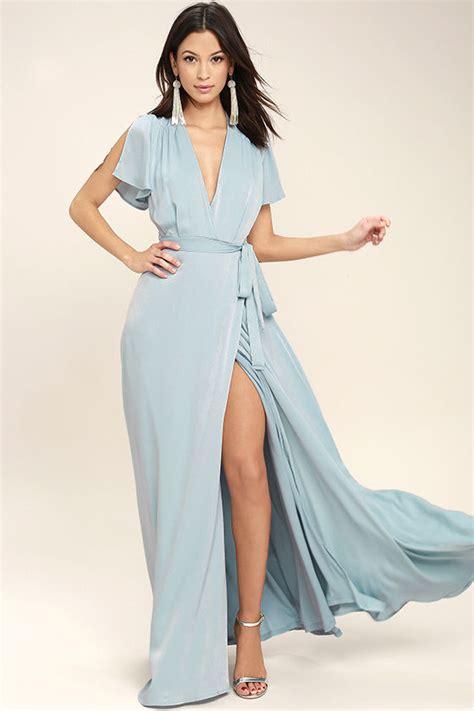 lovely light blue dress maxi dress wrap dress