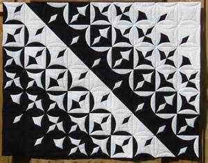 Black Patchwork Quilt - atarashi black and white quilts