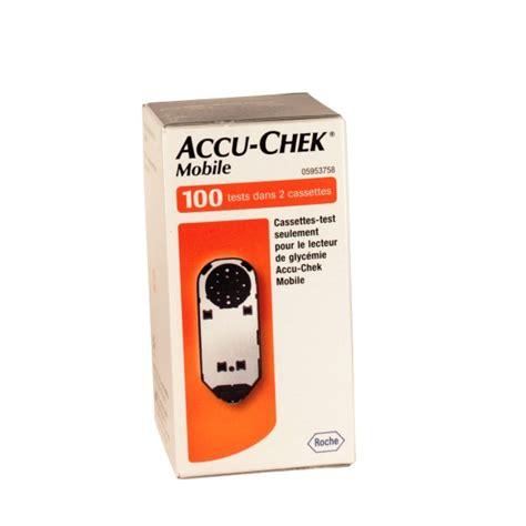 accu chek test cassette accu chek mobile cassette bande test lecteurs de