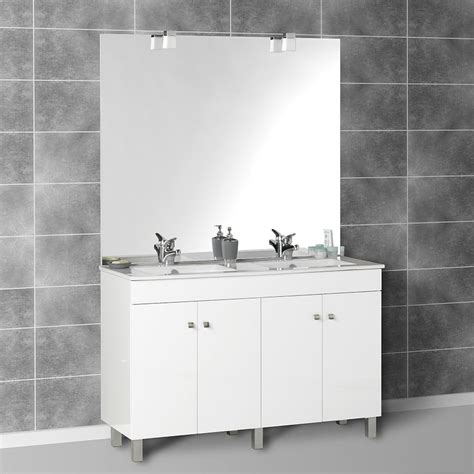 Bien Parquet Flottant Salle De Bain Lapeyre #6: meuble-salle-de-bain-retro-2-meuble-de-salle-de-bain-avec-double-vasque-et-miroir-900-x-900.jpg