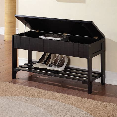 entryway storage rack with bench storage bench shoe rack entryway organizer container store