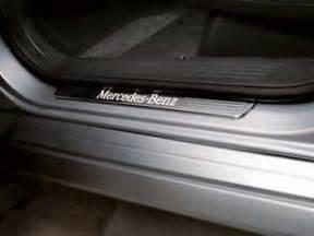 Mercedes Illuminated Door Sills Genuine Oem Mercedes M Class Ml W166 Illuminated Door