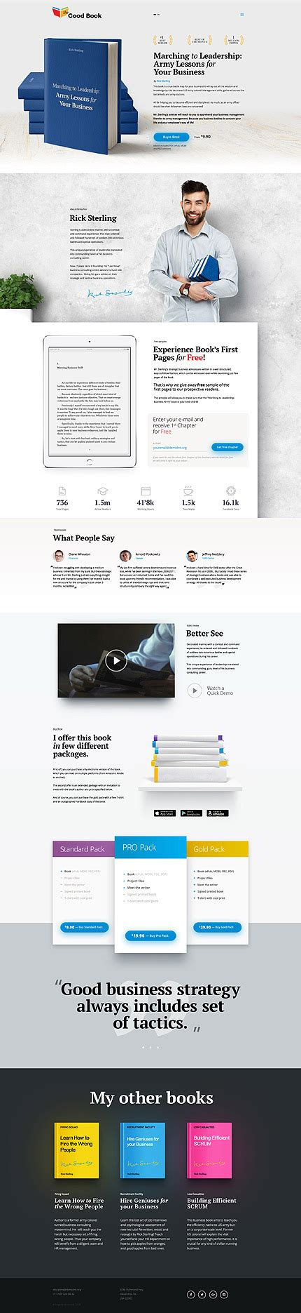 best templates for books websites books website template 58601 templates com