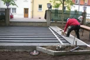 terrasse bauanleitung wpc terrassendielen tipps holz polymer