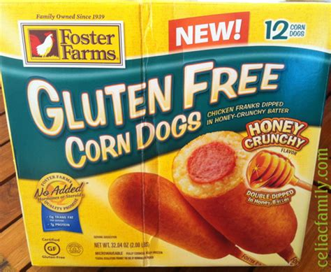 are corn dogs gluten free foster farms gluten free corn dogs review