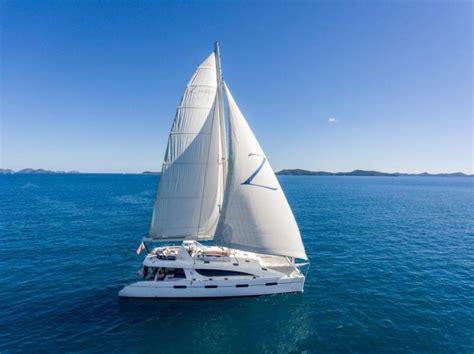 zingara catamaran charter sailing catamaran zingara silhouette 76ft