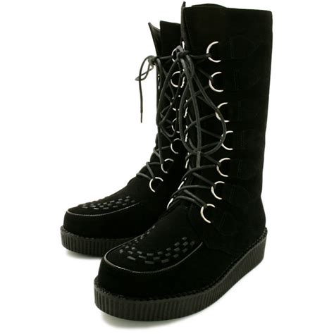 steunk style creeper style boots