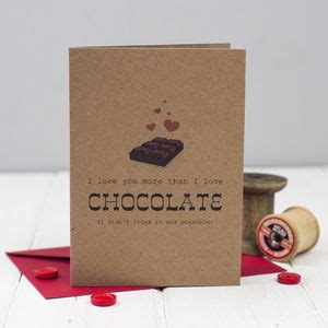 Chocolate E Gift Card - miss shelly designs products notonthehighstreet com