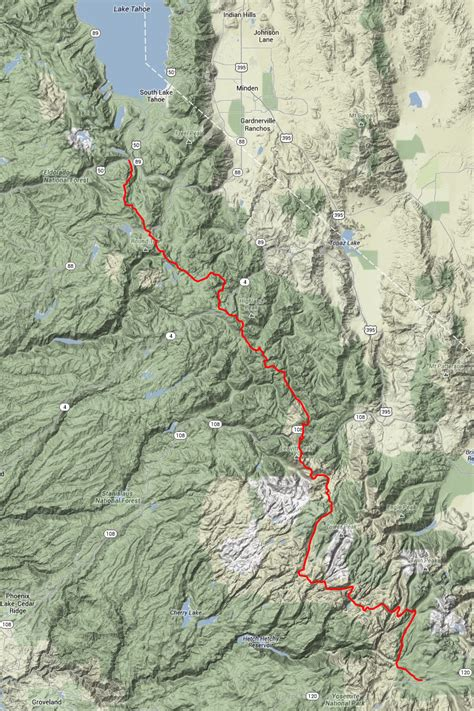 pacific crest trail california sections pacific crest trail california map quotes