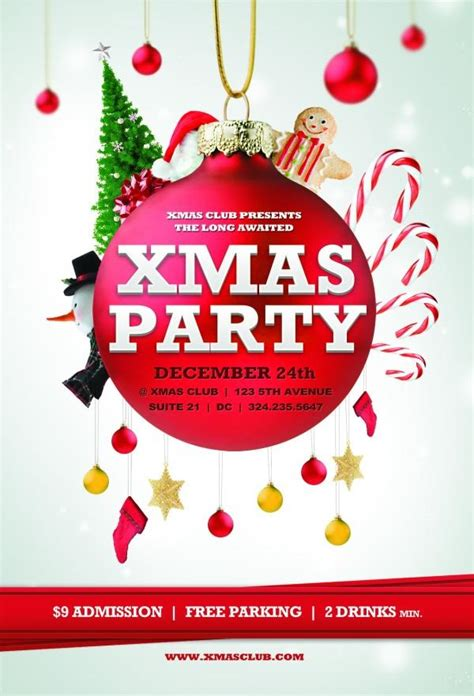 christmas flyer templates free free other psd file page 18 newdesignfile com