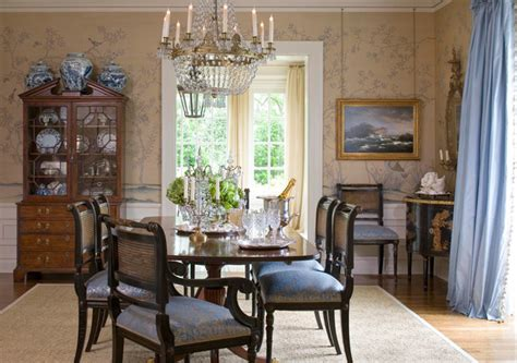 chinoiserie dining room chinoiserie hand painted wallpaper traditional dining