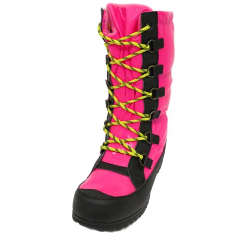pink winter boots pink winter warm zip snow ski thermal