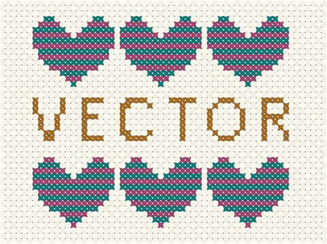 ai pattern cross how to create a vector cross stitch effect in adobe
