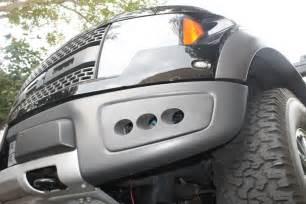 Ford Raptor Fog Lights Custom Made Ford Raptor Fog Light Shroud Kit Ebay