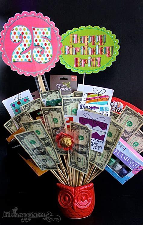 birthday gift basket idea with free printables inkhappi