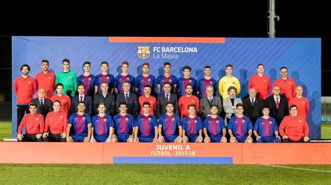 barcelona u19 fc barcelona u19 a 2017 2018 fc barcelona