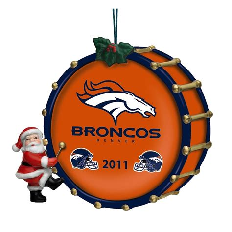 2011 annual denver broncos ornament the danbury mint