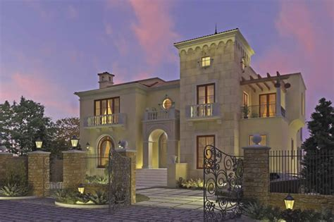 Traditional Home Floor Plans by Move In Dubai Dubai Villas Spells Out For Classy Living