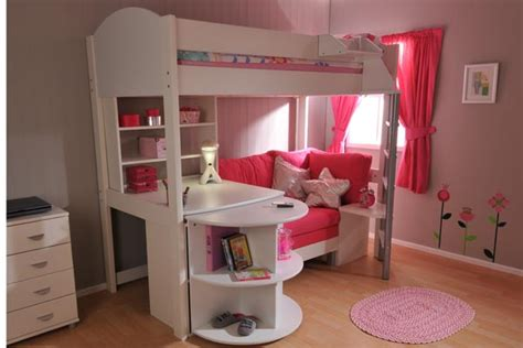 Kid Bed With Desk Loft Beds With Desks Bunk Beds With Stairs