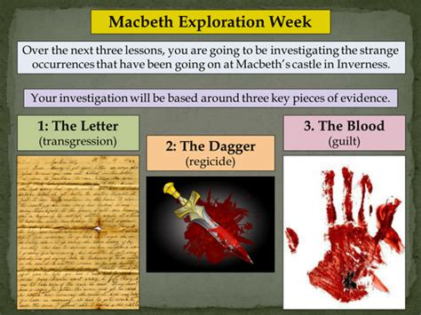 themes in macbeth ks2 english literature language ks3 4 5 lessons resources
