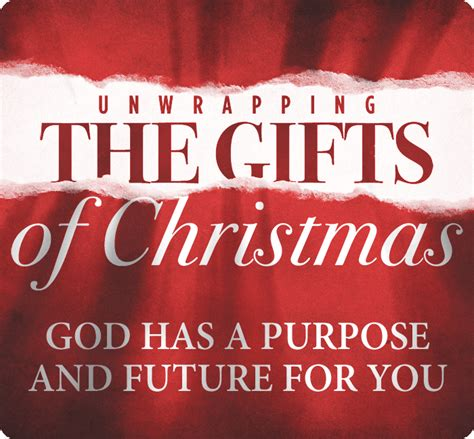 unwrapping christmas sermons god has a purpose and future for you nick floyd cross church