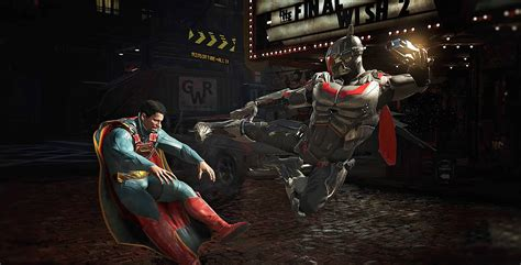 Superman Dc Comics M0044 Zenfone 3 Max 5 5 Print 3d injustice 2 the greatest gladiator matches in the history of the world this week in gaming