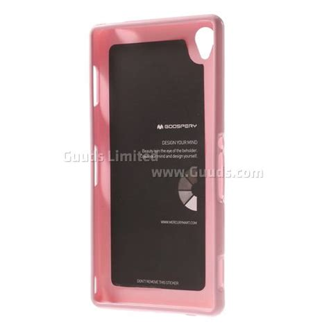 Sony Xperia M4 Jelly Goospery Soft New Cover mercury goospery jelly tpu cover for sony xperia z3 lte d6653 d6603 pink tpu guuds