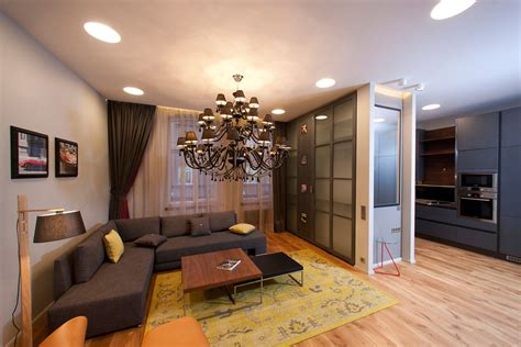 Living Space Studio Apartment In Riga By Eric Carlson Design Apartments Riga