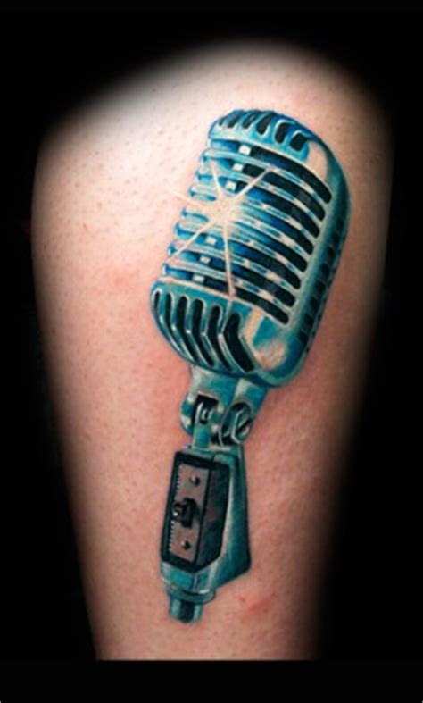 microphone bird tattoo looking for unique tattoos microphone years 50