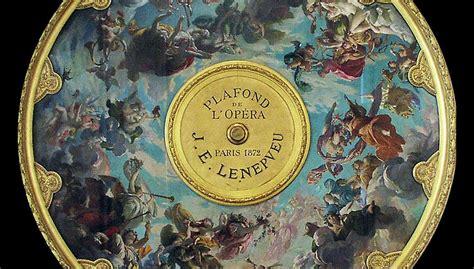 Opera Garnier Plafond by D 233 Bat Sur Le Plafond De L Op 233 Ra Garnier Par S De La