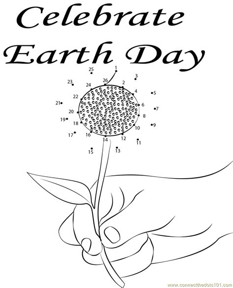 dot to dot printables earth day celebrate earth day dot to dot printable worksheet
