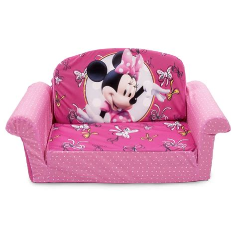 minnie couch spin master marshmallow furniture flip open sofa minnie