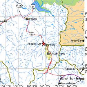 fraser colorado map fraser colorado co population data races housing