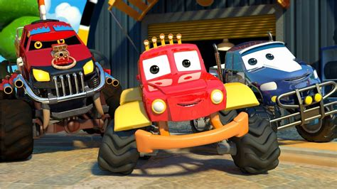 childrens monster truck videos we are the monster trucks monster truck dan songs for