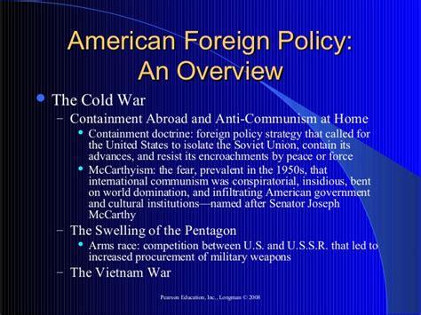 theme definition longman us foreign policy presentation