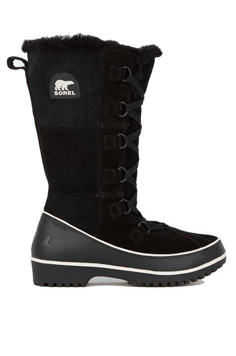 sorel tivoli boots sorel s tivoli high ii waterproof boots in black lyst