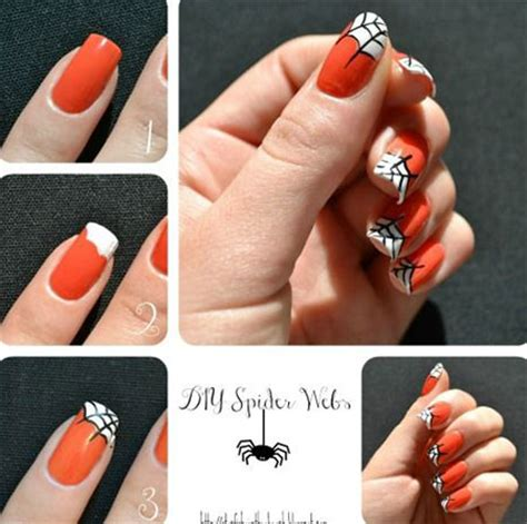 tutorial nail art halloween 12 easy step by step halloween nail art tutorials for