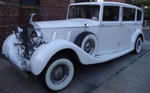 Vintage White Rolls Royce Our Fleet