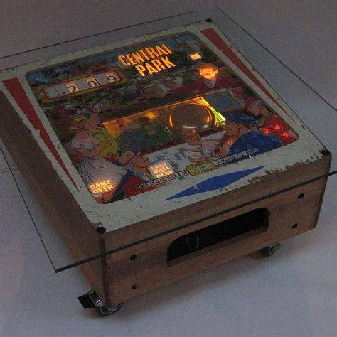 vintage gottlieb pinball coffee table