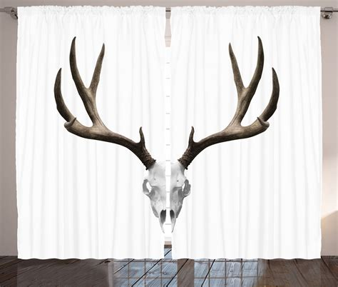 deer skull antlers collection home decor