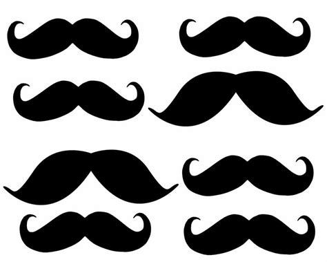 Printable Mustache Stickers | mustaches or little men free printable mini kit oh my