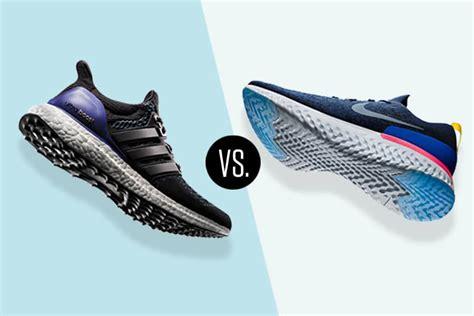 la nike epic react flyknit vs la adidas ultra boost pk