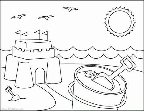 Coloring Pages For Summer C