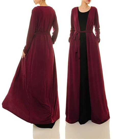 Vsh3491 Kimono Square Maroon 1423 best images about modesty wear on dubai maxi cardigan and bell sleeves