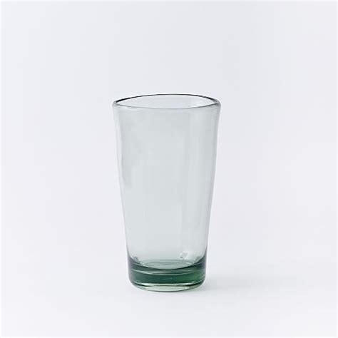 acrylic barware acrylic glassware set of 4 recycled green west elm