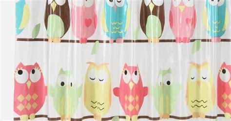 owl peva shower curtain shower curtains saturday knight ltd owl peva shower