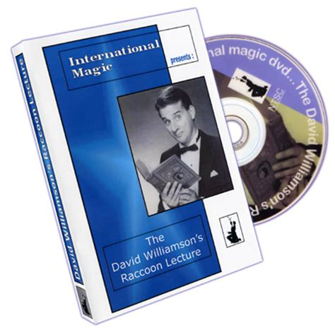 Penguin Live Lecture Daniel Garcia Dvd Magic Tutorial Sulap david williamson raccoon lecture by international magic dvd