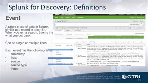 Splunk Sensitive Search Splunk Fundamentals Investigations With Splunk Splunk Tech Day