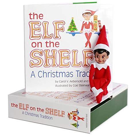 elf on the shelf brown eyed boy light skin elf on the shelf brown eyed boy with bonus quot an elf story