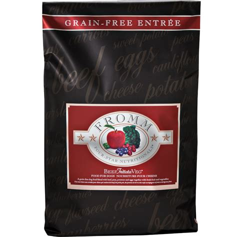 fromm food puppy fromm four food beef frittata veg 26 lb